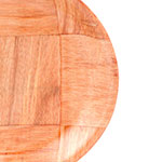 """Update WRP-6 6"""" Woven Wood Salad Plate"""