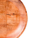 """Update WRP-9 9"""" Woven Wood Salad Plate"""