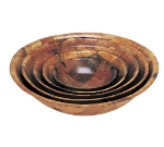 "Update International WSB-14 14"" Woven Wood Salad Bowl"