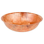 "Update WSB-10 10"" Woven Wood Salad Bowl"