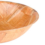 "Update WSB-12 12"" Woven Wood Salad Bowl"