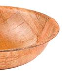 "Update WSB-6 6"" Woven Wood Salad Bowl"