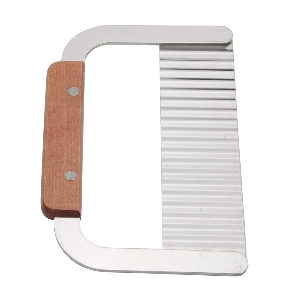 "Update WSER-7 7"" Serrator - Wood Handle, Stainless"