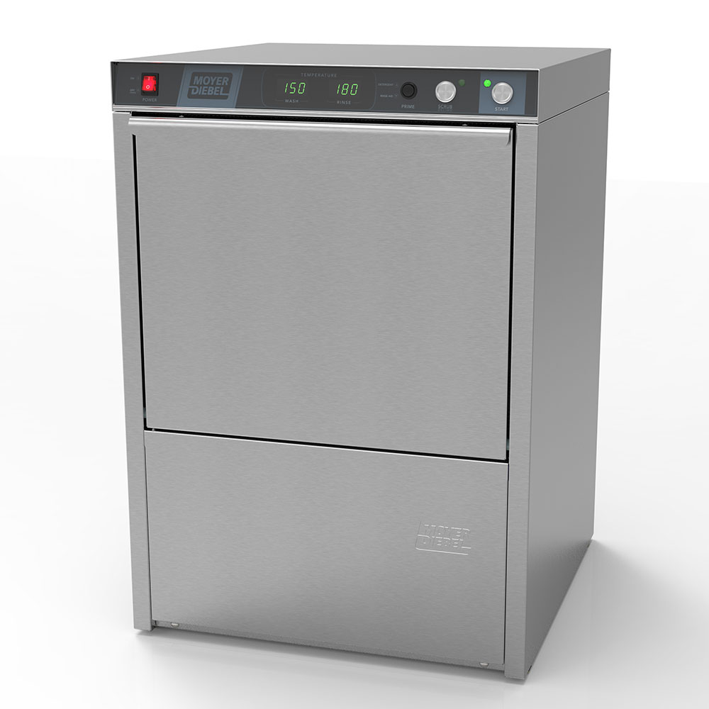 Moyer Diebel 201HT40R Undercounter Dishwasher w/ Booster,  High Temp w/ 40-Degree Rise