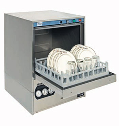 Moyer Diebel 351HT High Temp Rack Undercounter Dishwasher - (30) Racks/hr, 208v/1ph