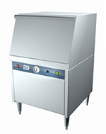 Moyer Diebel MD240LT Underbar Type Glasswasher w/ Low Temp Chemical Sanitizing, 30-Racks in 1-hr