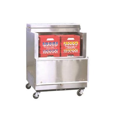 Norlake AR082SSS/0-A Milk Cooler w/ Top & Side Access - (864) Half Pint Carton Capacity, 115v