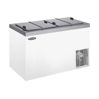 "Norlake FF154WVS/0 54"" Stand Alone Ice Cream Freezer w/ 11-Tub Capacity & 8-Tub Capacity, 115v"