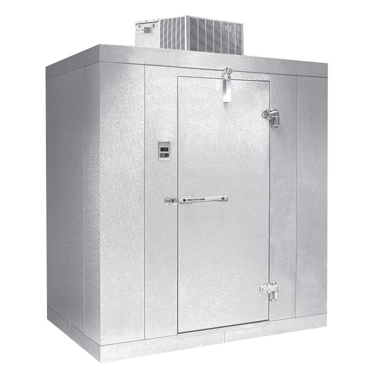 Norlake KLB7488-C L Indoor Walk-In Refrigerator w/ Top Mount Compressor, 8' x 8', No Floor