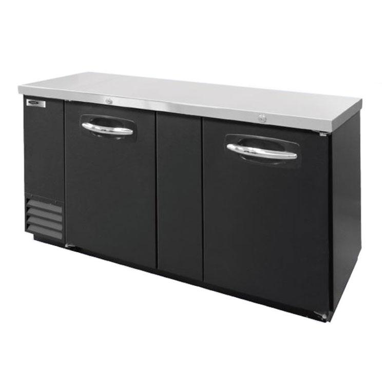 Nor-Lake NLBB69 69.13 (2) Section Bar Refrigerator - Swin...