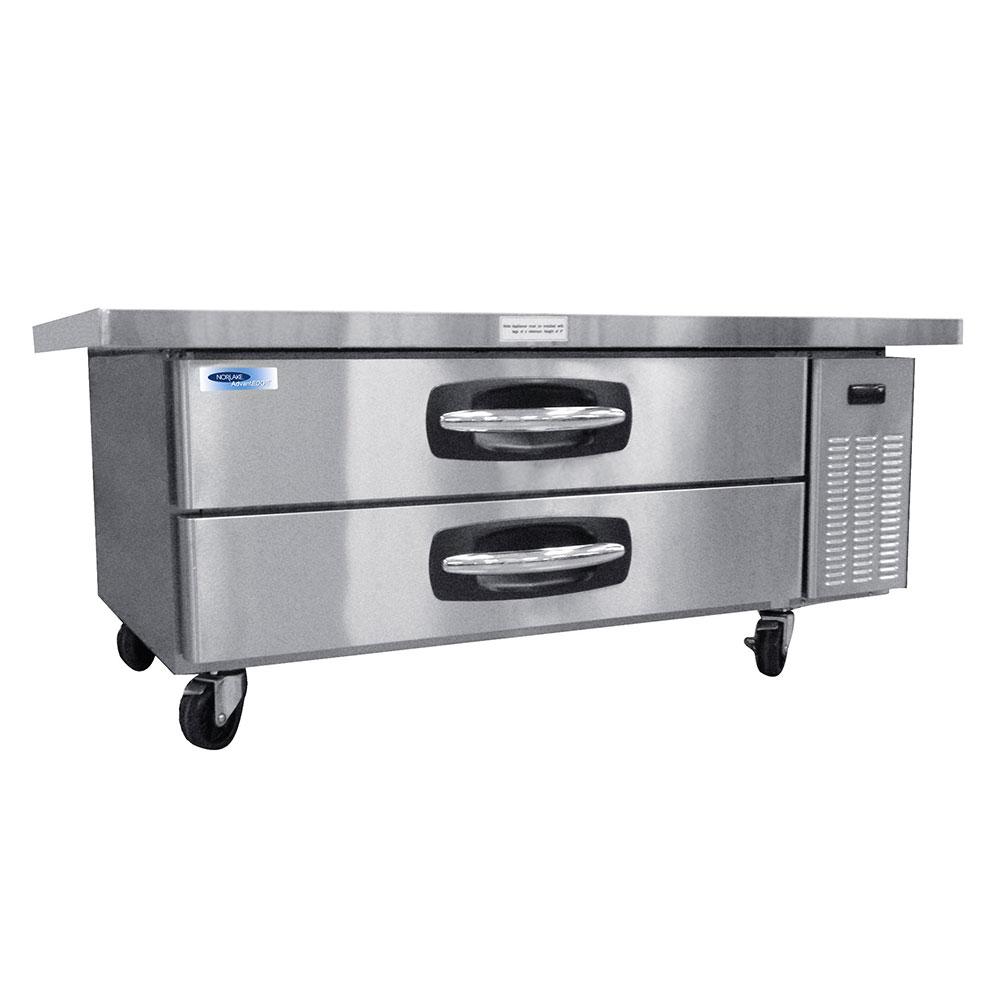 Nor-Lake NLCB60 60 Chef Base w/ (2) Drawers - 115v