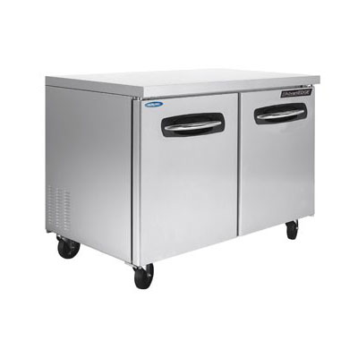 Norlake NLUF48 13-cu ft Undercounter Freezer w/ (2) Sections & (2) Doors, 115v