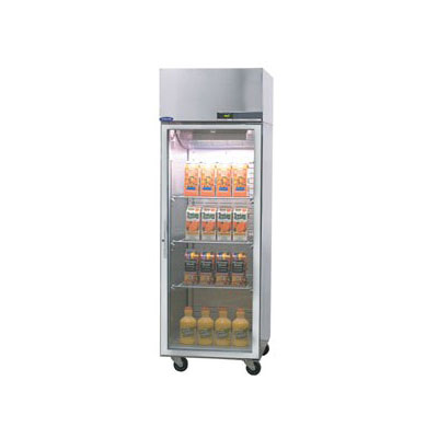 "Norlake NR241SSG/0 27.5"" Single Section Reach-In Refrigerator, (1) Glass Door, 115v"