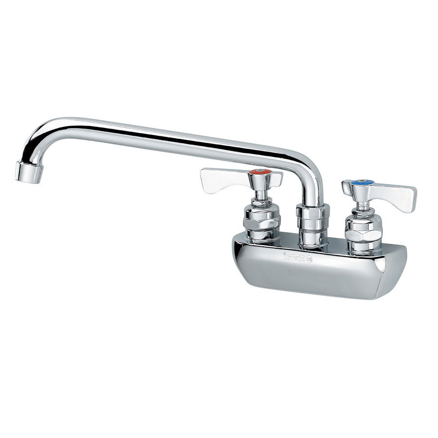 "Krowne 14-408L Low Lead Royal Series Faucet, 8"" Long, Splash Mount"