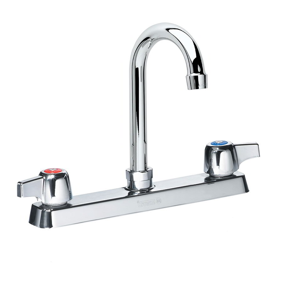 Krowne 14-801L Low Lead Royal Series Faucet, Splash Mount, 5-in Long