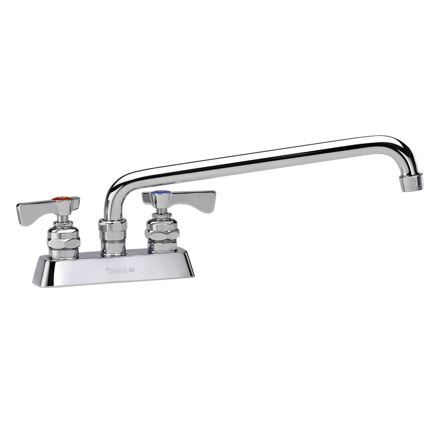 Krowne 15-308L Low Lead Royal Series Faucet, Deck Mount, Swing Nozzle