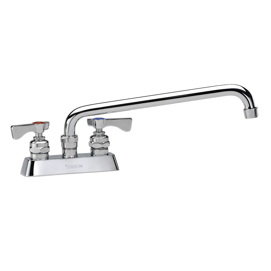 "Krowne 15-316L Low Lead Royal Series Faucet, 4"" Centers, Swing Nozzle, 16"" L"