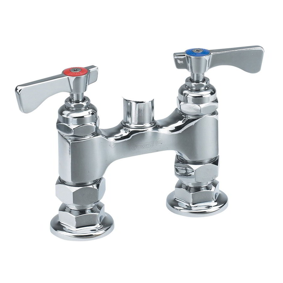 KROWNE 15-4XXL Low Lead Raised Deck Mounted Faucet w/ 4 C...