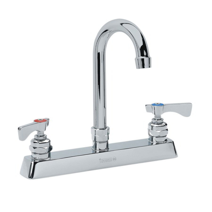 "Krowne 15-502L Low Lead Royal Series Faucet, Mounting Kit, 8-1/2"" Wide"