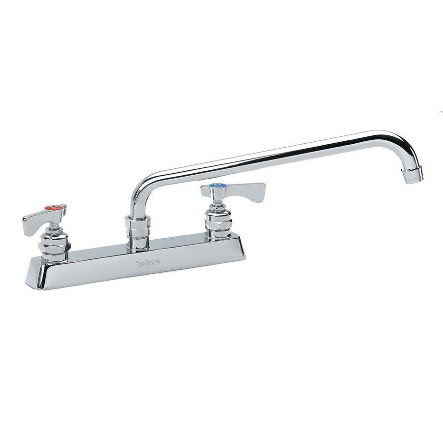 """Krowne 15-506L Low Lead Royal Series Faucet, 6"""" Long, Swing Nozzle, 8"""" Center"""