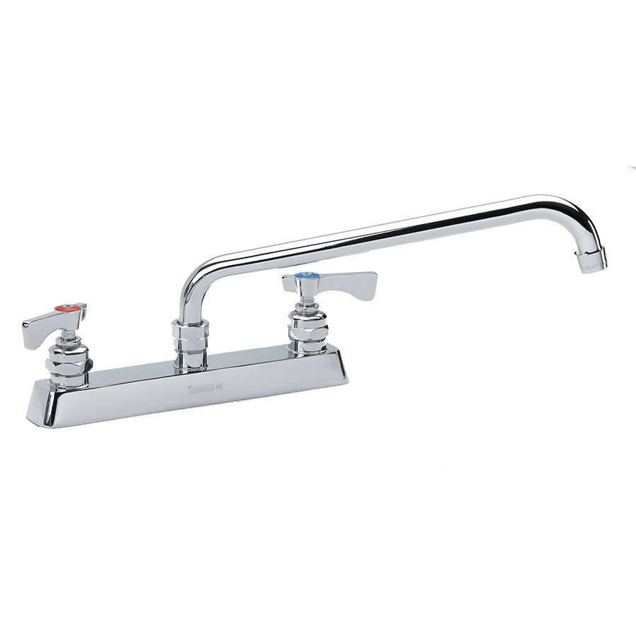 "Krowne 15-512L Low Lead Royal Series Faucet, 12"" Long, Swing Nozzle, Mount Kit"