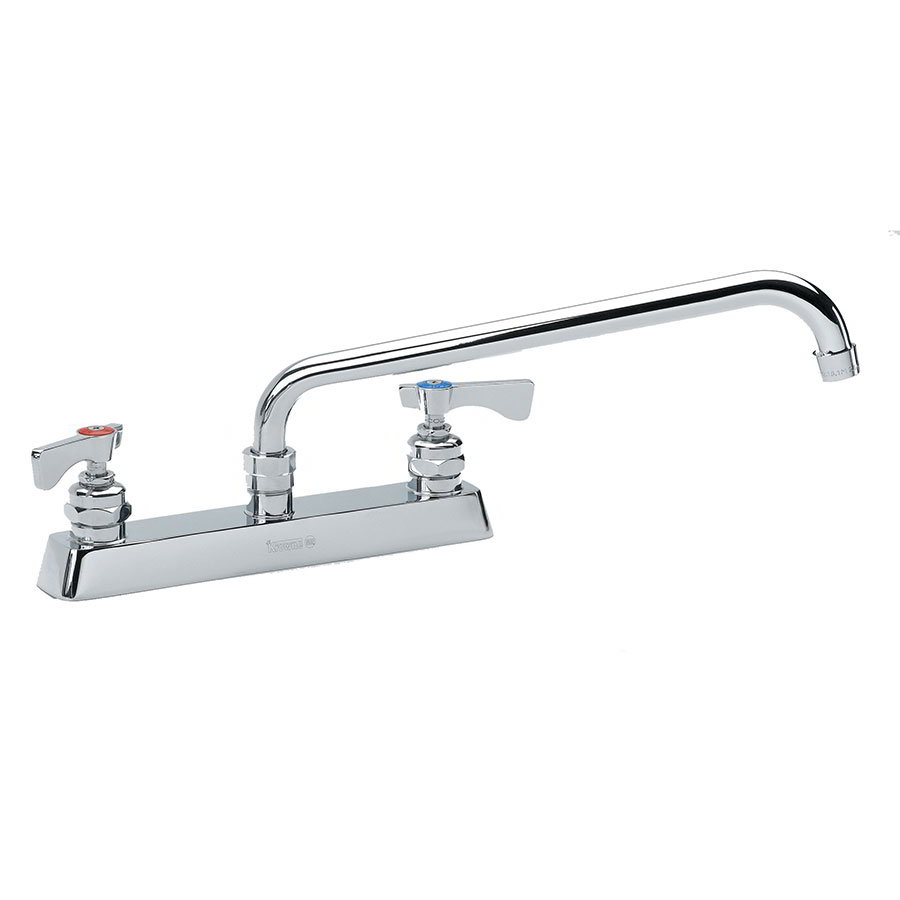 "Krowne 15-516L Low Lead Royal Series Faucet, 16"" Long, Swing Nozzle,8"" Center"