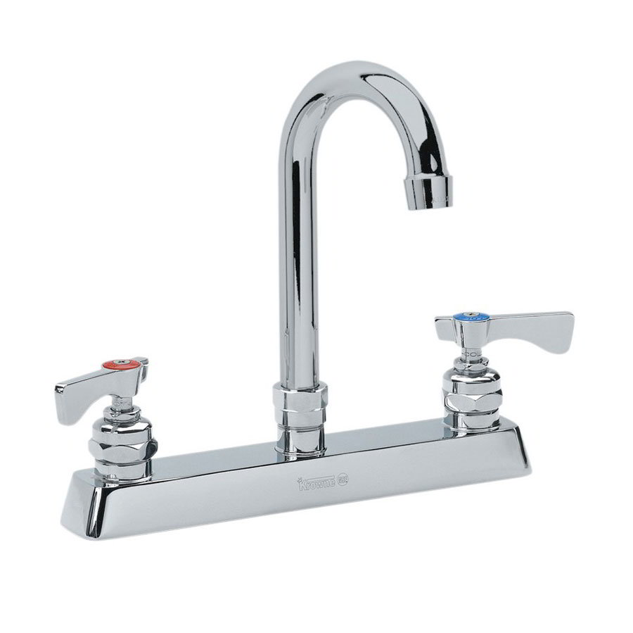 "Krowne 15-525L Low Lead Royal Series Faucet, Mount Kit, 8"" Center,3-1/2"" Wide"
