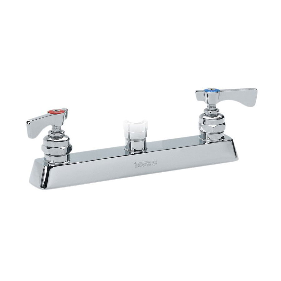 "Krowne 15-5XXL Low Lead Deck Mounted Faucet w/ 8"" Center"