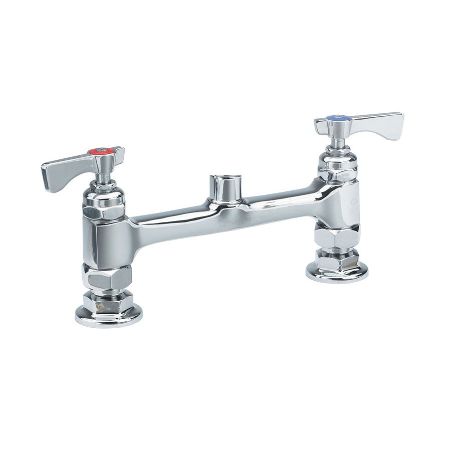 "Krowne 15-8XXL Low Lead Raised Deck Mounted Faucet w/ 8"" Center"