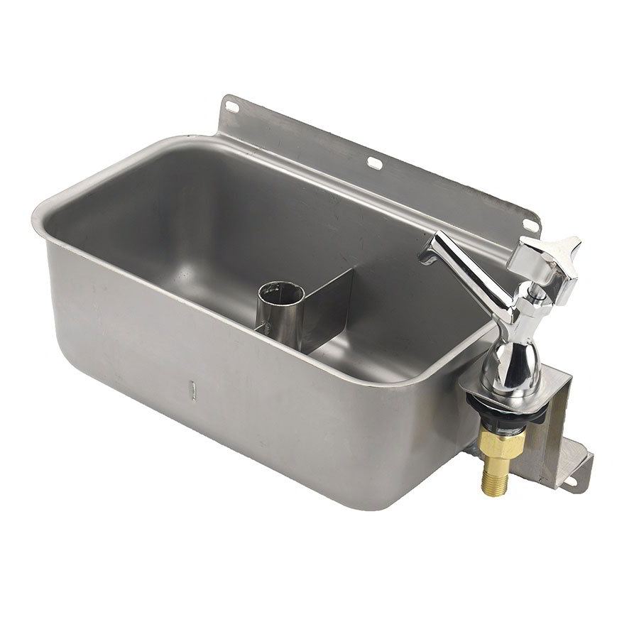 Krowne 16-153L Low Lead Front Mount Dipperwell, Includes Faucet With Shutoff