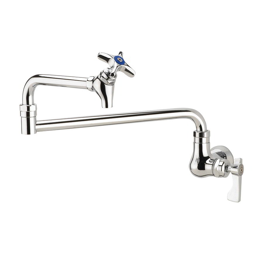 "Krowne 16-179L Royal Series Wall Mount Pot Filler Faucet w/ 12"" Spout, Low Lead"