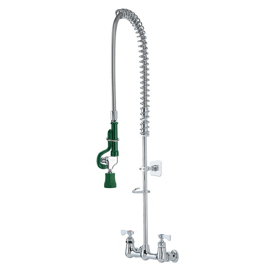 "Krowne 17-108WL Low Lead Royal Series Pre-Rinse Assembly w/ Wall Bracket, 35"" H"