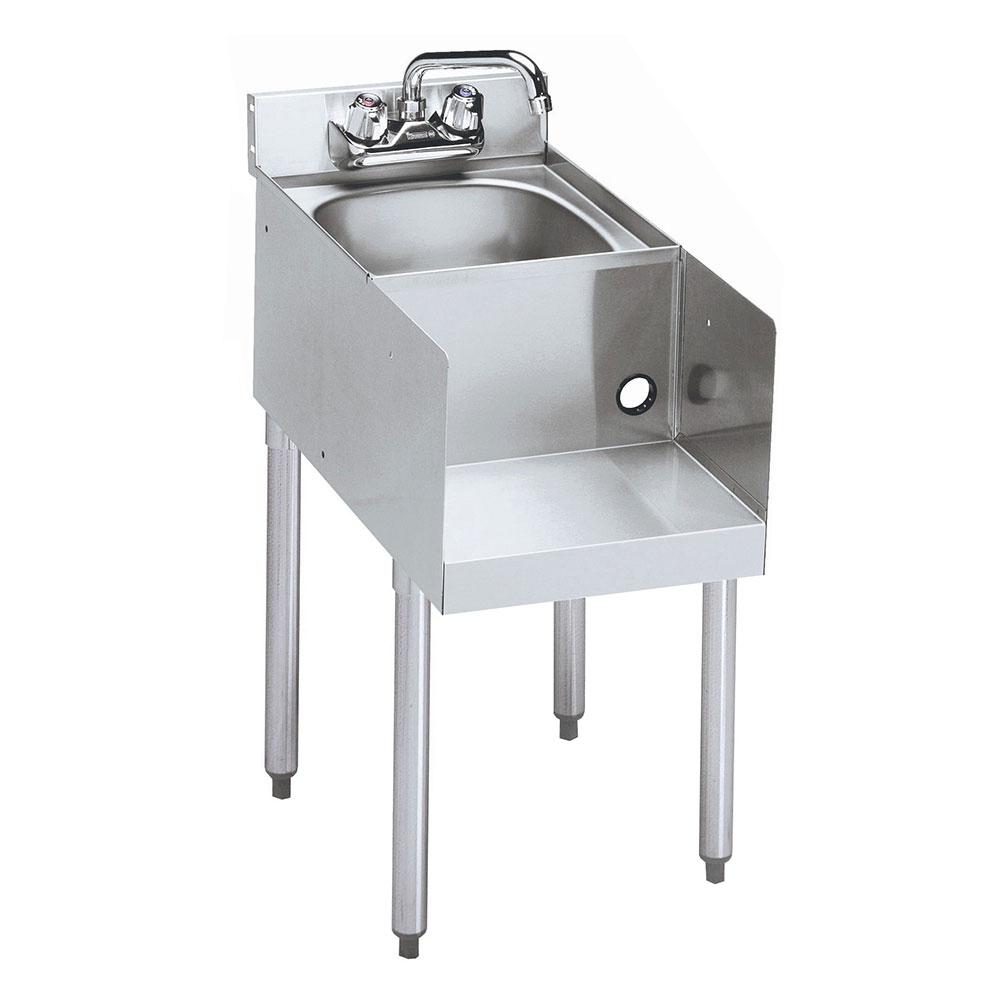 "Krowne 18-18BD Blender/Liquid Dump Sink Add-On - 4"" Back Splash, Splash Mount, 18x22.5"", 4-Legs"
