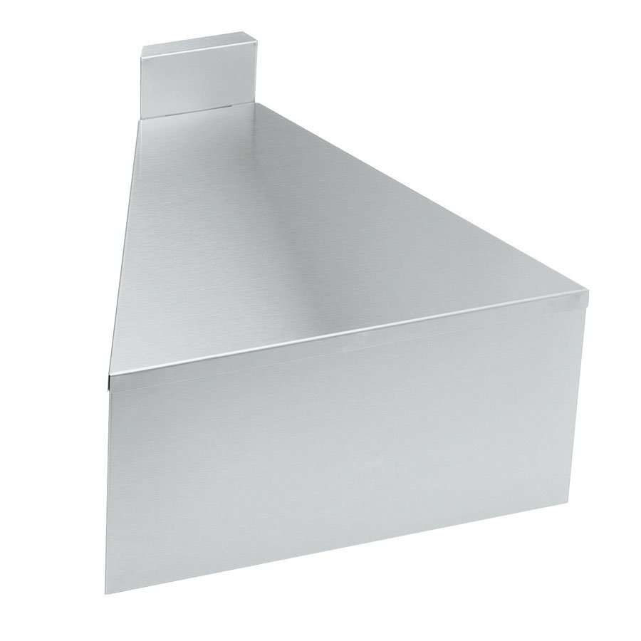 "Krowne 18-F30 18.5"" Flat Top Front Angle - 30-Degree, 4"" Back Splash"