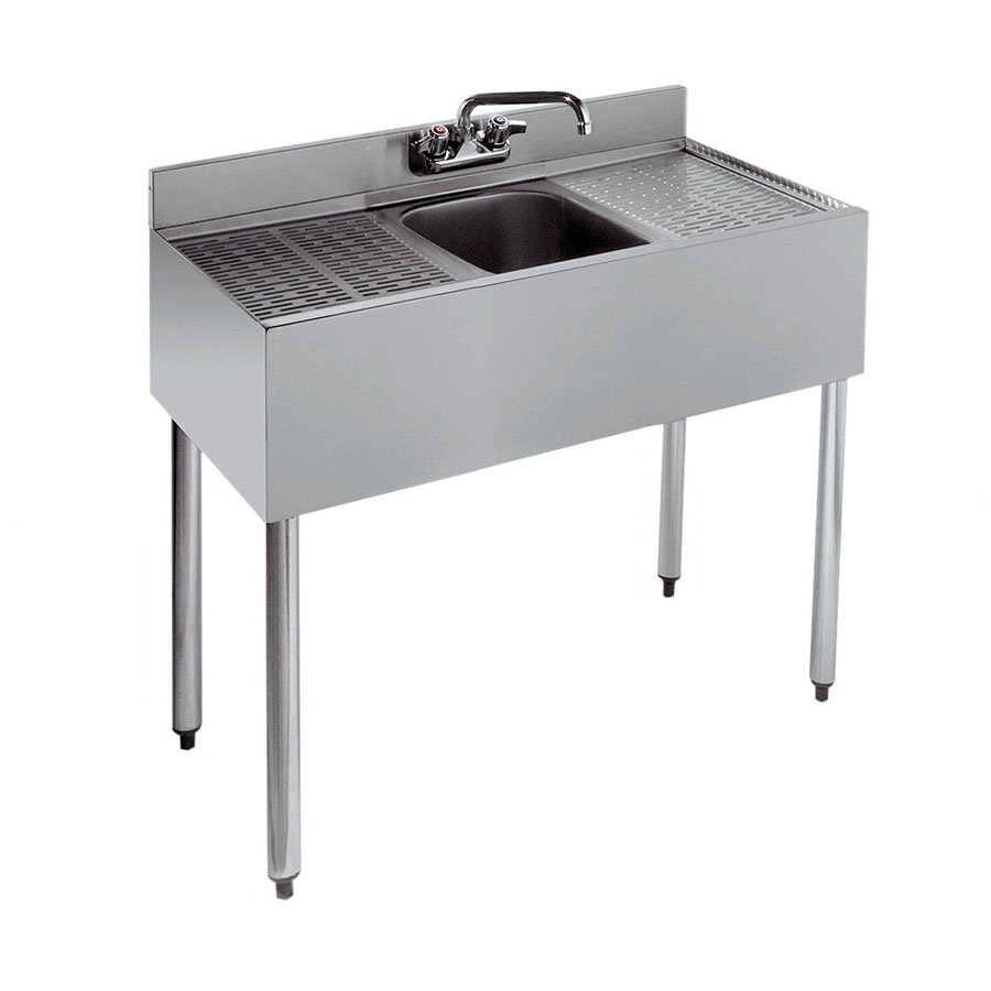 "Krowne 21-31C 36"" 1-Compartment Sink w/ 10""W x 14""L Bowl, 10"" Deep"