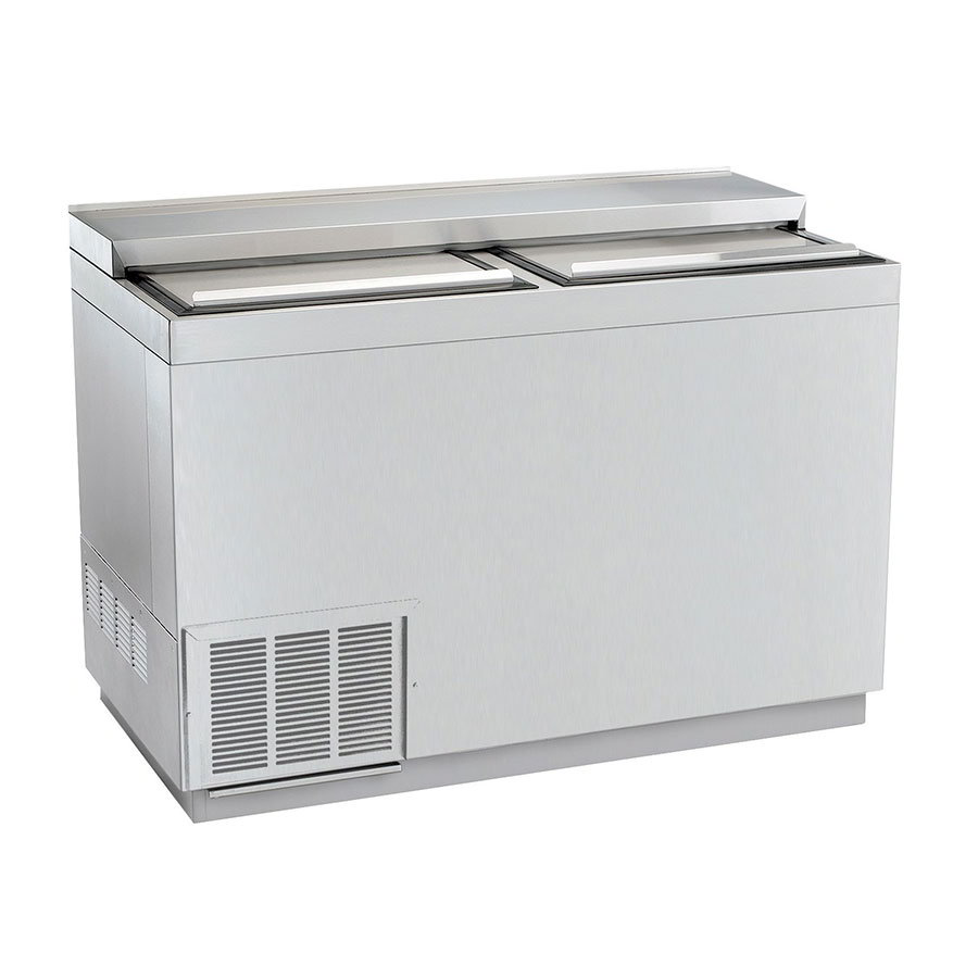 """Krowne BC48-SS 48"""" Forced Air 348-Capacity Bottle Cooler - Stainless Interior, 115v"""