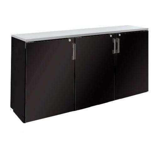 "Krowne BD72 72"" Non-Refrigerated Back Bar Storage Cabinet, 24""D"