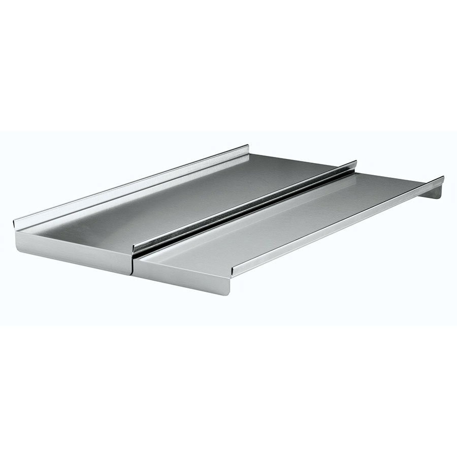Krowne C-42 Ice Bin Partial Sliding Cover, Stainless