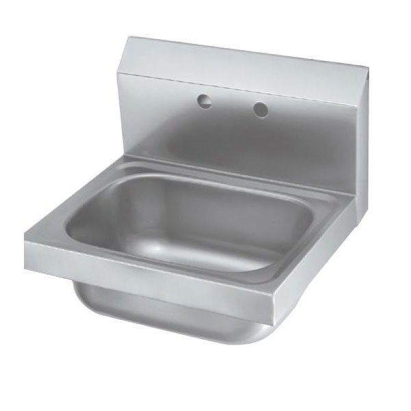 "Krowne HS-6 Wall Mount Commercial Hand Sink w/ 12.5""L x 9.75""W x 5.87""D Bowl"