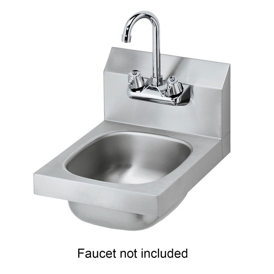 "Krowne HS-9-LF Wall Mount Commercial Hand Sink w/ 9.75""L x 11.75""W x 5""D Bowl"