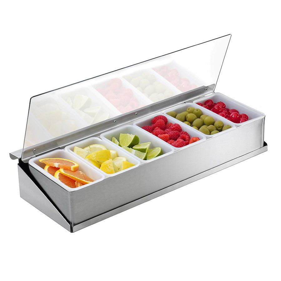 Krowne KR-111 Condiment Tray For Pass-Thru Ice Bin