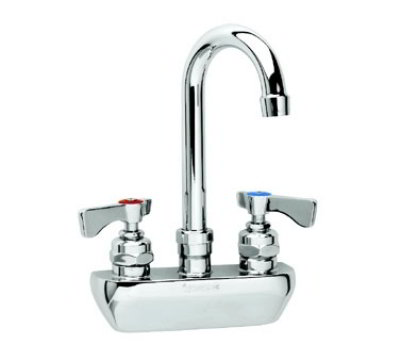 Krowne 14-401L Low Lead Royal Series Faucet, 4-in Centers, Gooseneck, 6-in Long