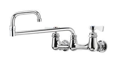 Krowne 14-818L Low Lead Royal Series Faucet, Splash Mount, 18-in Long