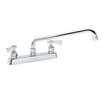 Krowne Metal 15-508 Deck Mount Royal Series Faucet 8-in L Restaurant Supply