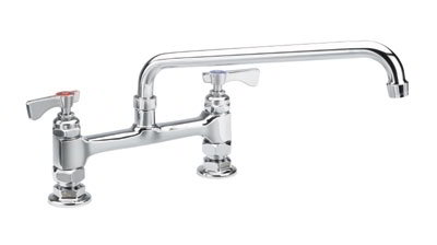 Krowne 15-808L Low Lead Royal Series Faucet, 8-in Long, 8-in Centers, Mount Kit