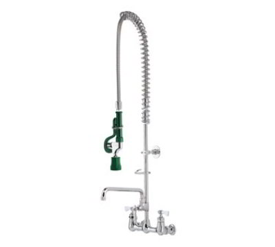 Krowne 17-109WL Low Lead Royal Series Pre-Rinse Assembly w/ Wall Bracket, 38-in H