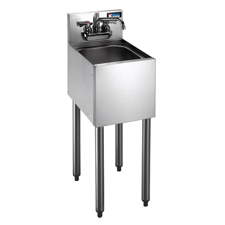 Restaurant Equipment Commercial Sink 1-Compartment Sink Under Bar Sink ...