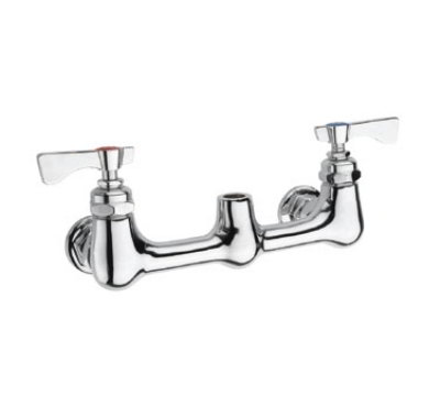 Krowne 21-108L Low Lead Royal Series Wall Mount Pre-Rinse Base, 8-in Center