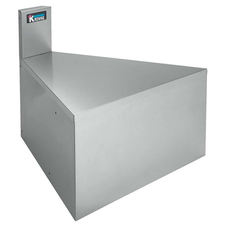 "Krowne KR21-F15 26"" Front Angle - 15-Degree, 7"" Back Splash"