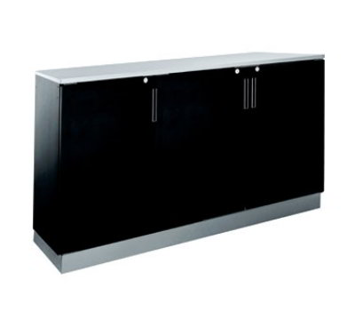 Krowne Metal BR72L 72-in W Backbar Storage Cabinet Restaurant Supply